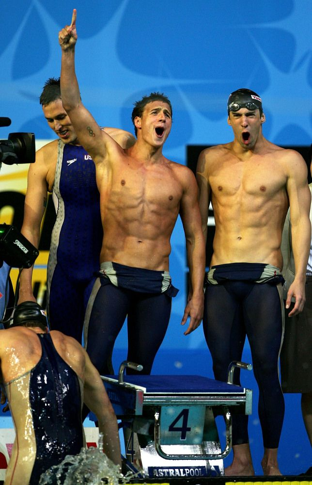 Michael phelps and Ryan Lochte... ok seriously?? Where do I get a job laundrying their swim wear or cleaning the pool??!! I will clean the pool!!!