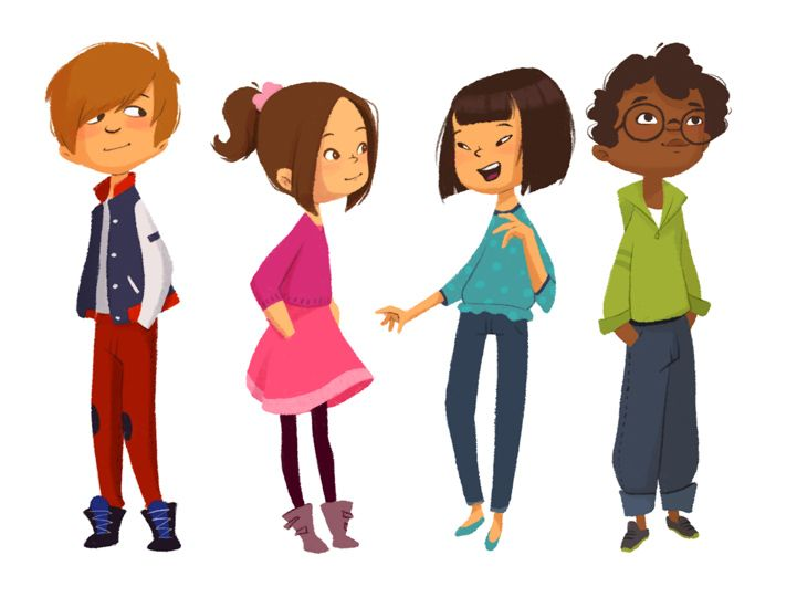 Character Design Academy Of Art : Book de mipou character design kids pinterest