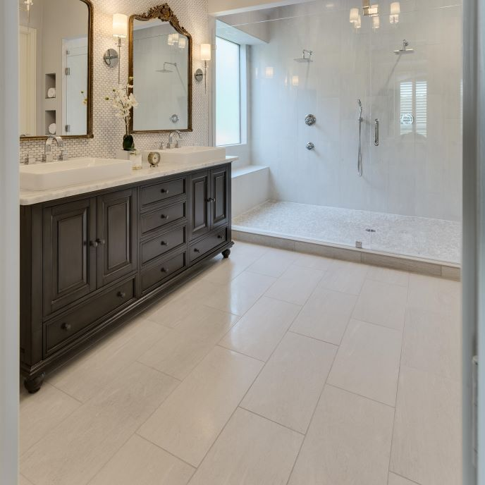 Photo Of Texas Sized Bathroom Remodel ProSource Wholesale This was a master bathroom renovation in Texas