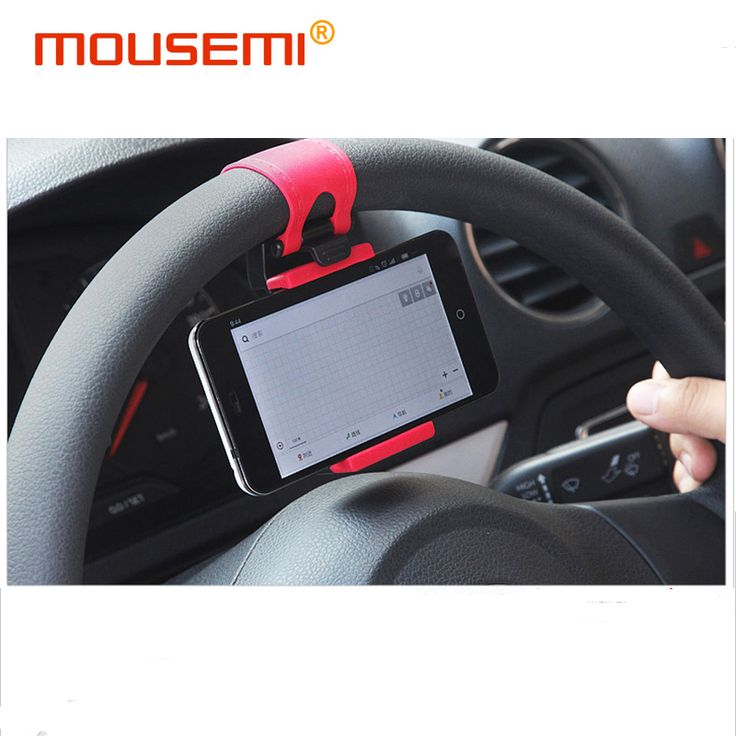 Steering-wheel Car Phone Holder For Support Mobile Phone Mount in Car Navigation Holder Stand For iphone 5s 6s 7 plus xiaomi mi5