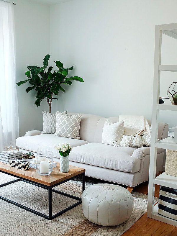 Las 25 mejores ideas sobre salones peque os en pinterest - Ideas para decorar un apartamento pequeno ...