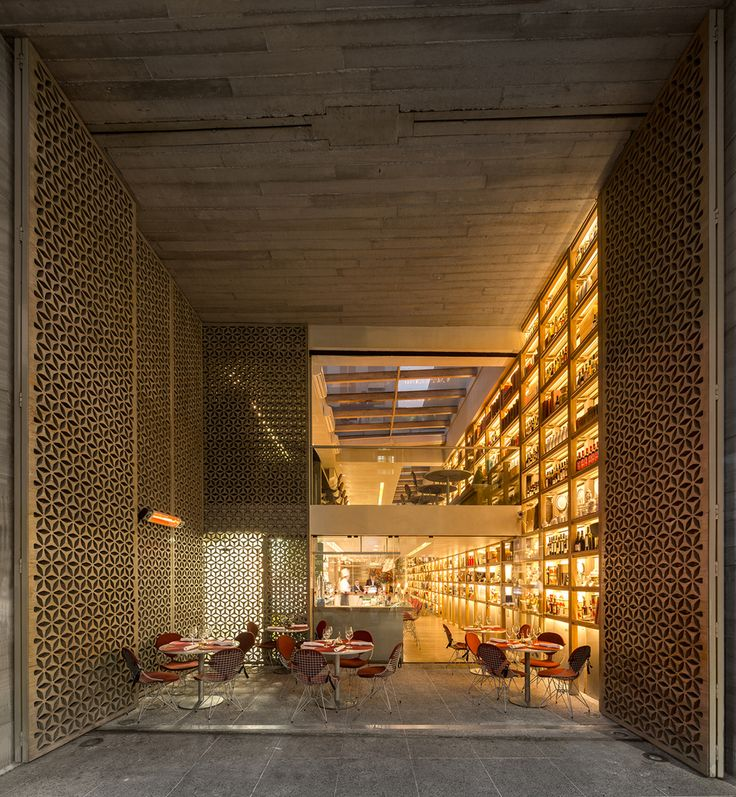 Mozza Bar & Restaurant in Sao Paulo designed by Arthur Casas
