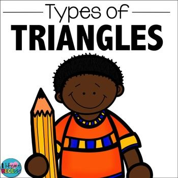 Use this mini-bundle for teaching/reviewing types of triangles. Review Right, Acute, Obtuse, Equilateral, Isosceles, & Scalene triangles.  Aligned to CCS 4.G.2 Included:Types of Triangles flip-flap book for student notebooks20 Types of Triangles Task CardsTask Card Recording sheet and answer keyAll Kinds of Triangles WorksheetTriangles by Their Angles WorksheetBy I {Heart} RecessI {Heart} Recess FBI {Heart} Recess