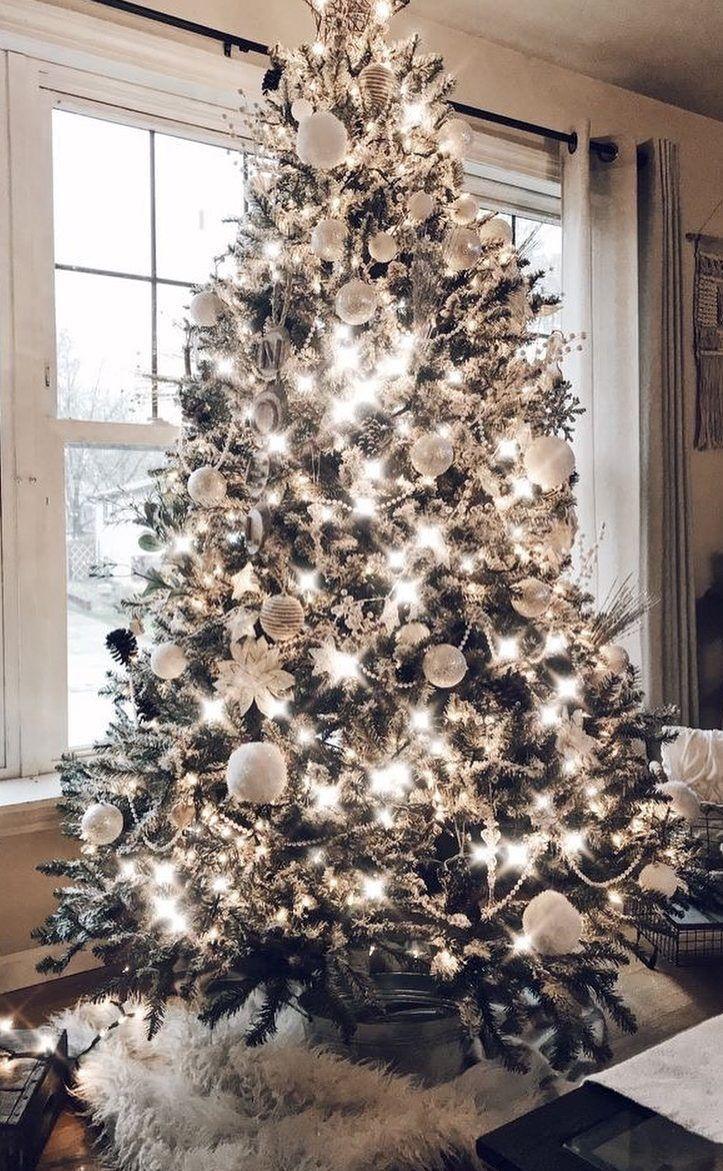 Pinterest Cluelessangel White Christmas Trees Christmas Decorations Rustic Tree Amazing Christmas Trees
