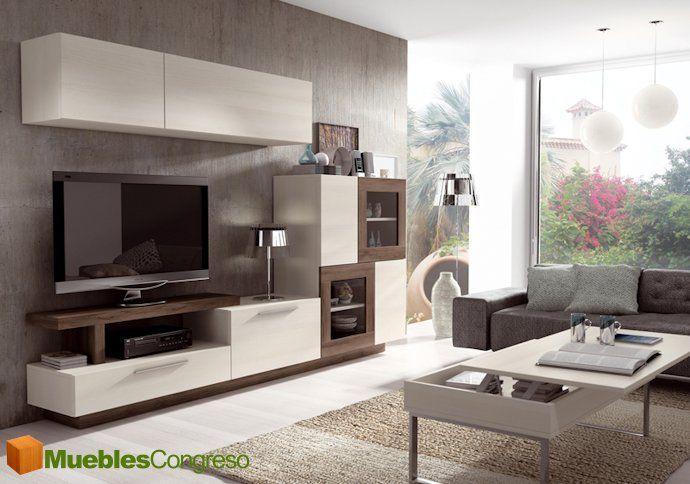 Visite nuestras composiciones de muebles para salones modernos Las Palmas, infórmese de las ofertas en muebles de salón y muebles de com...