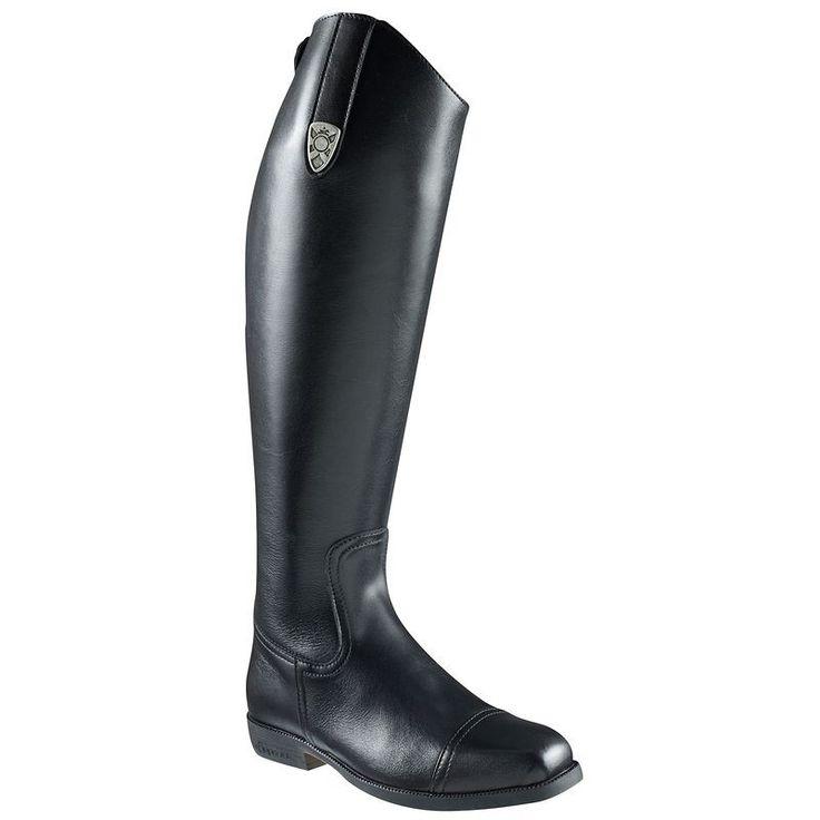 Stivali equitazione Scarpe - Stivali equitazione RIDING M cuoio Neri FOUGANZA - Tipologia
