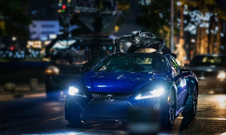 Lexus looks to ride 'Black Panther' movie back to luxury lead