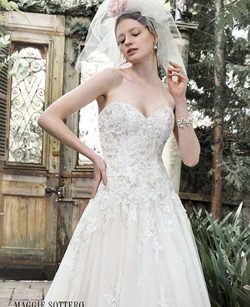 Dallasandra  Fredricka   Maggie Sottero Fall 2015 New To Wedding  Inspirations In Asheville NC Www