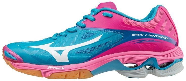 Mizuno Wave Lightning Z2 Dames Blauw/Roze maat 40.5