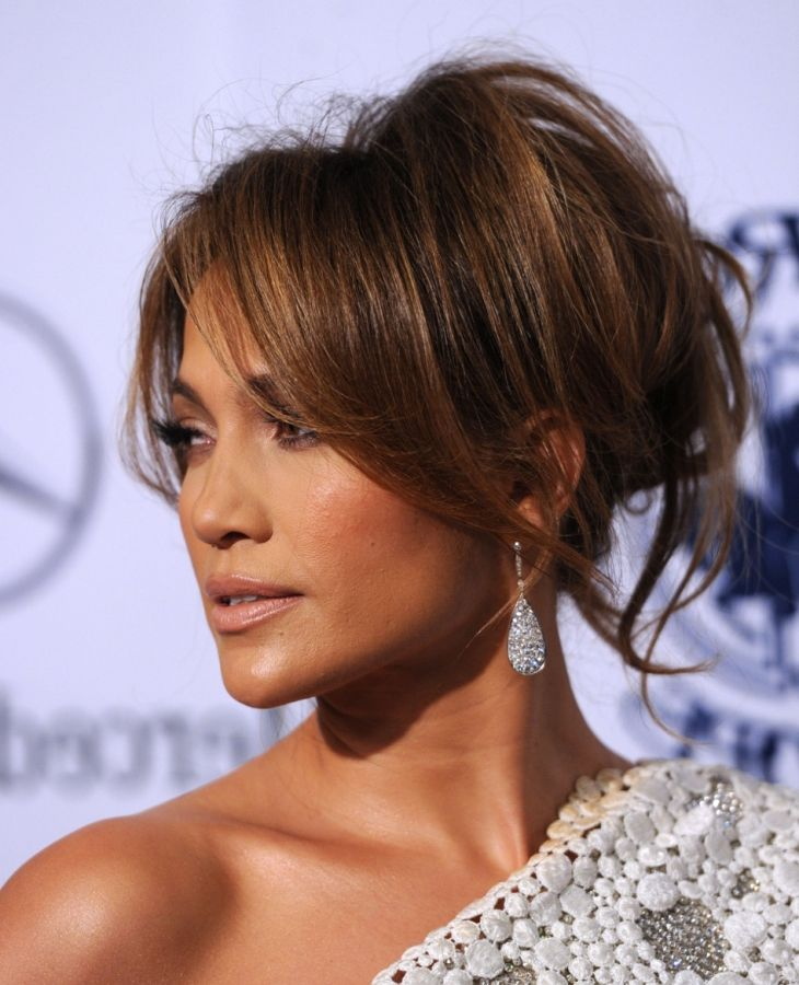 Jennifer Lopez Hair Up Styles Interesting 16 Best Updoes Images On Pinterest  Hair Dos Chignons And Hair
