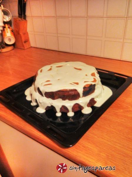 Κέικ φυστικοβούτυρο #sintagespareas