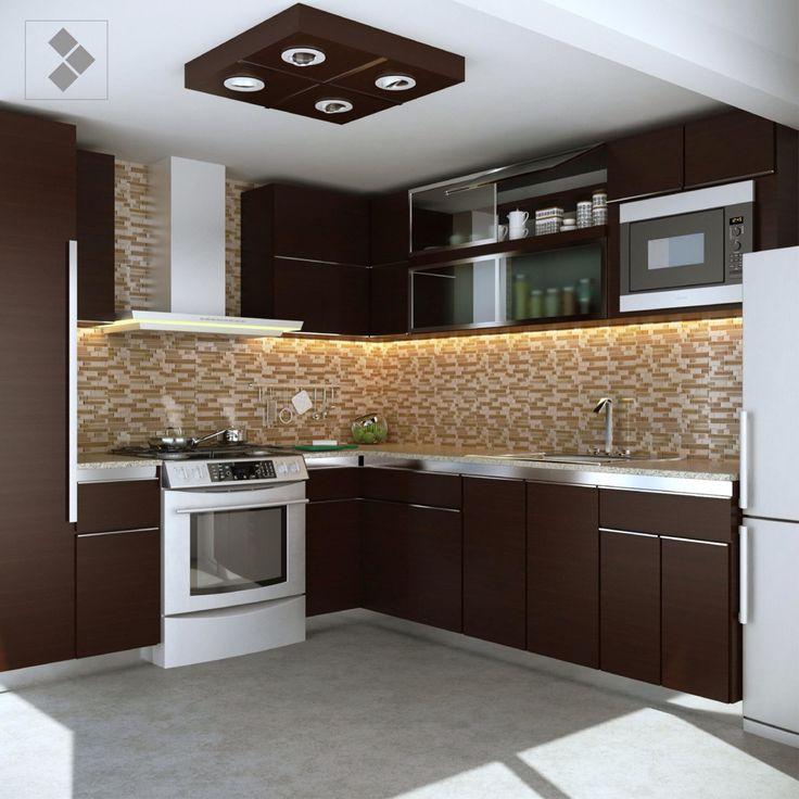 Cocina color chocolate cocinas pinterest cosas de for Cosas de casa decoracion