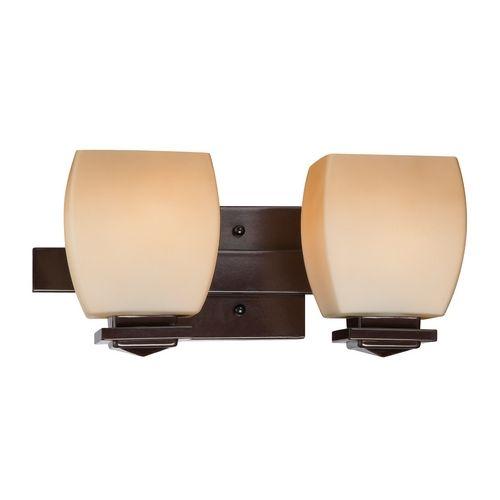 lite source lighting bronze bathroom light amber