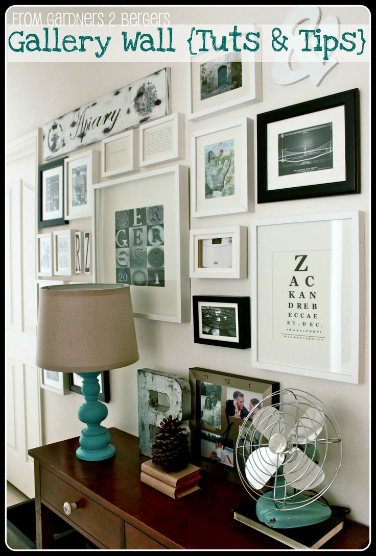 Setting for Four: Gallery Wall Tuts & Tips {Guest Post: Becca at From Gardners 2 Bergers}