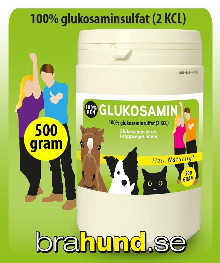 Glukosamin är ett kroppseget ämne som krävs för underhåll av kroppens olika delar, särskilt brosk, senor och ligament. Förmågan att producera glukosamin avtar med åldern. Kroppen kan då behöva understöd av detta tillskott.