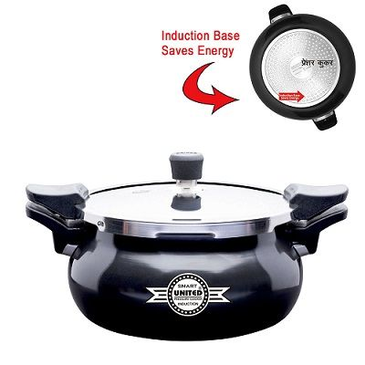 Buy United Smart Cooker Hard Andiosed 3in1 (Cooker+Strainer+Server) 5 Litre.United All in one Smart Cooker is guaranteed for 5 years against any manufacturing defect.