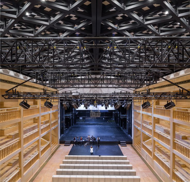 Gdansk Shakespeare Theatre (con imágenes) Auditorio