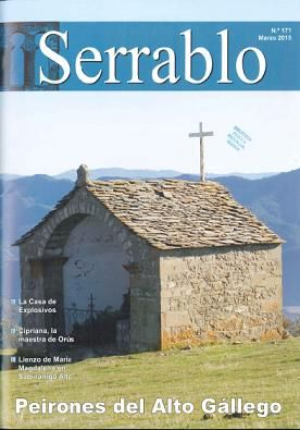"""CULTURA. """"Serrablo"""" Esta revista se edita desde 1971 trimestralmente con artículos y noticias sobre la comarca, arte, etnología y arquitectura popular."""
