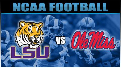 lsu vs. ole miss | NCAAF Odds, LSU Tigers Vs Ole Miss Rebels Betting Lines