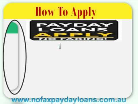 Payday Loans No Faxing- Get Instant Payday Loans Help To Meet Your Neces...