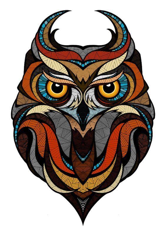 Картинки по запросу арт совы картинки