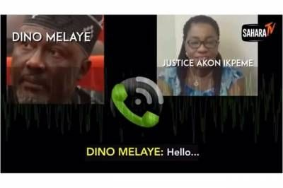 Senator Dino Melaye caught on tape allegedly bribing tribunal Judge – Sahara Reporters -  Click link to view & comment:  http://www.naijavideonet.com/senator-dino-melaye-caught-on-tape-allegedly-bribing-tribunal-judge-sahara-reporters/