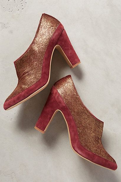 Miss Albright Baroque Galactic Booties - anthropologie.com #anthrofave