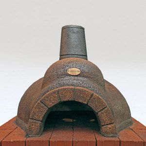 Keith Hamilton Clayfire pizza oven 85