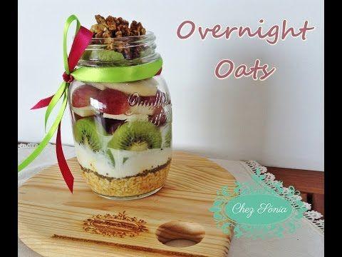 Veja como é fácil e rápido termos o pequeno almoço pronto no dia seguinte! Mais vídeos e receitas em www.chezsonia.pt