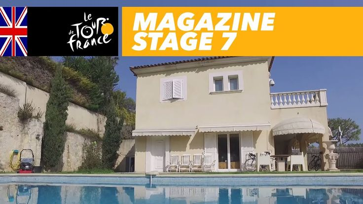 nice Magazine : Discover Team Sky's House with Chris Froome - Stage 7 - Tour de France 2017
