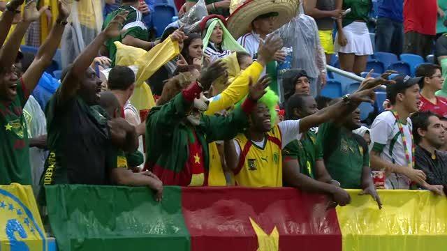 Messico-Camerun 1-0