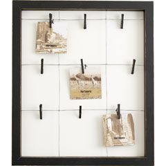 9-Clip Window Wall Frame - Pier 1: Christmas Cards, Hanging Pictures, Wall Frames, Art Display, Display Boards, Pictures Frames, Kids Artworks, Artworks Display, Windows Wall