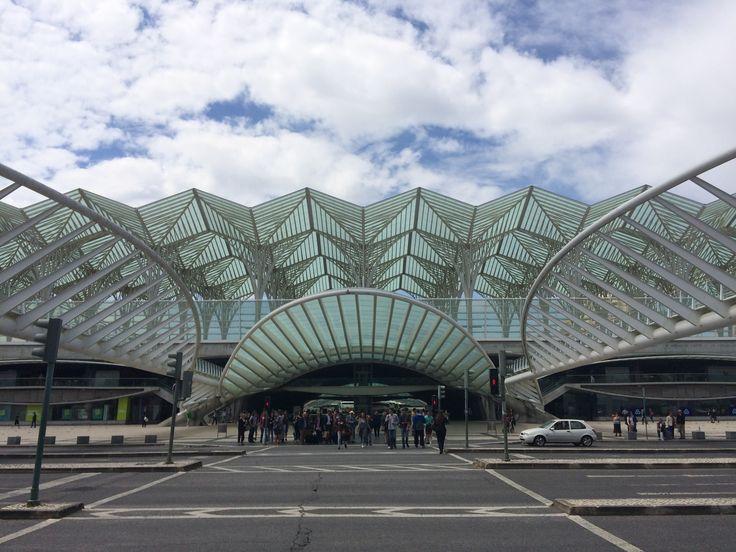 #Architecture at Lisbon's Oriente #trainstation