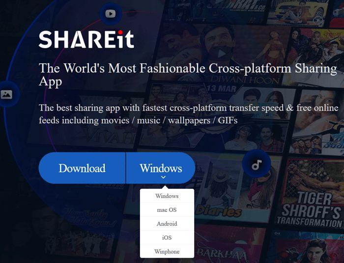 shareit for laptop windows 10 64 bit free download full version