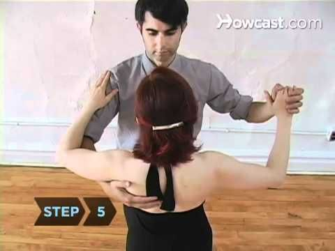 pretty good starter video to learn how to do a ballroom dance.