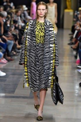 Rochas Animal Print Top Global Fashion Week Ss19 Trends 2019