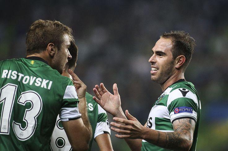 Liga dos Campeoes: Sporting x Juventus - Ristovski (da Macedonia) fez a estreia oficial e Bruno Cesar marcou