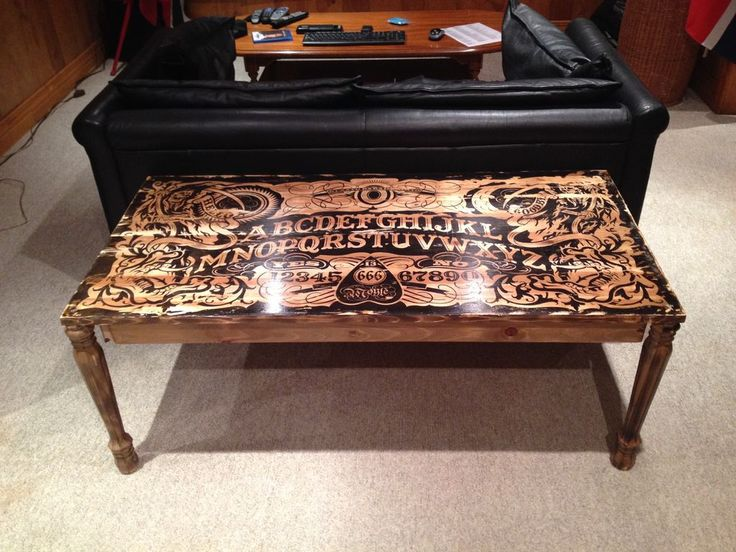 Best Images About Ouija Boards On Pinterest Ouija Throw - Ouija coffee table