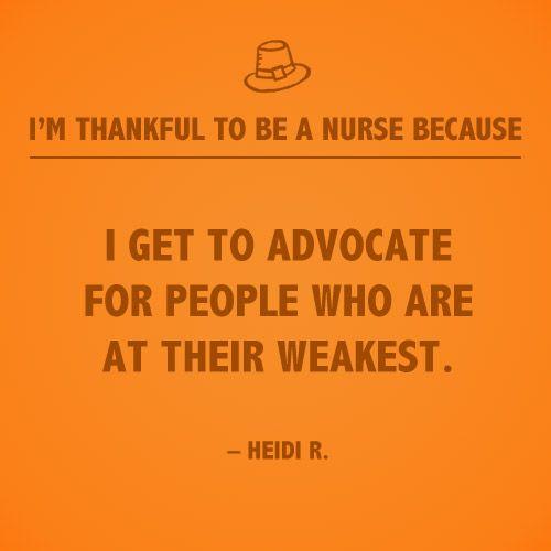 Thankful For Nurses Quotes: Patient Advocate Quotes. QuotesGram