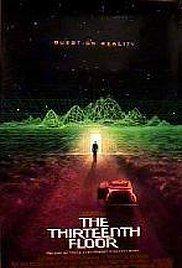 The Thirteenth Floor, 1999, by Josef Rusnak. Smart Sci-Fi.
