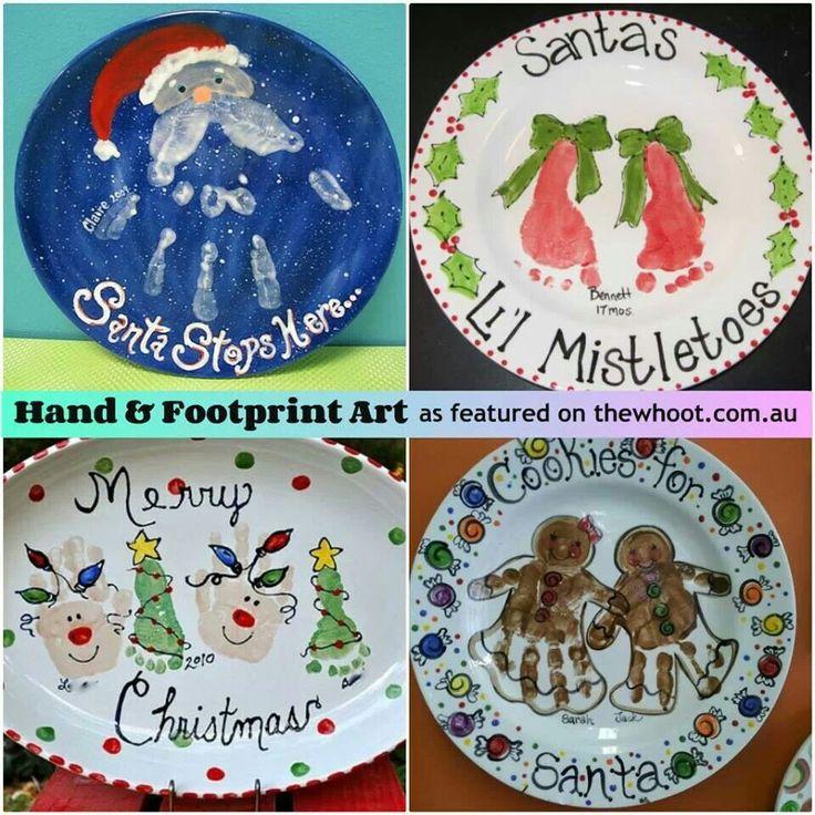 Cute Christmas Craft Ideas Make A Plate Every Year