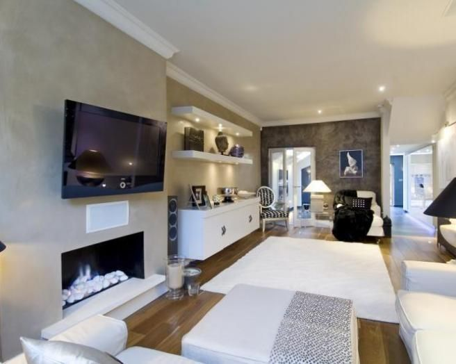 Nice Living Rooms With Tv nice normal living room | living room | pinterest | white lounge