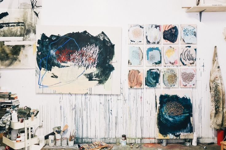 Heather Day's Studio in Oakland, CA