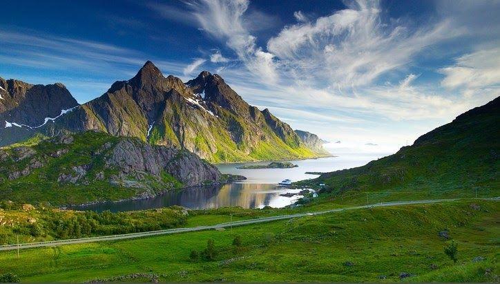 Wallpaper Pemandangan Gunung Terindah Di Dunia Search The Worlds Information Including Webpages Images Videos And More Google Ha Di 2020 Pemandangan Lofoten Norwegia