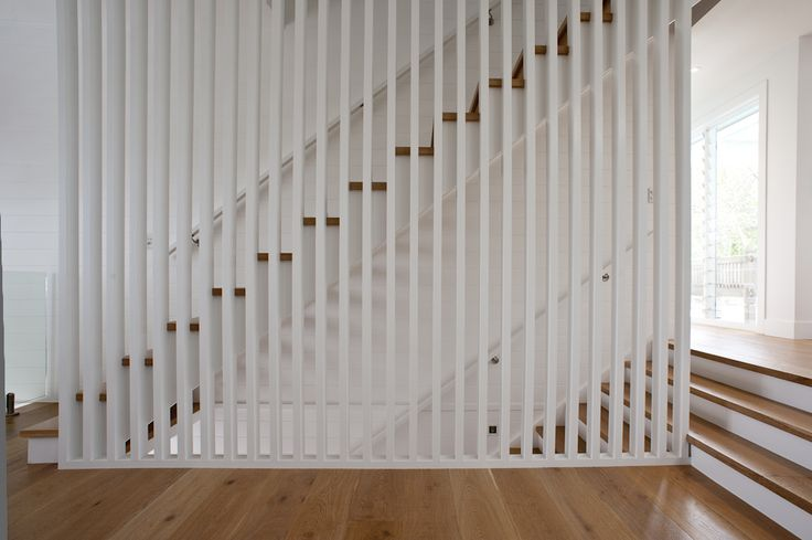 [Modern staircase - Made by Genneral Staircase. Pic Credit: Cadence & Co]    modern staircase | modern stairs | decorative screen | contemporary staircase | contemporary stairs