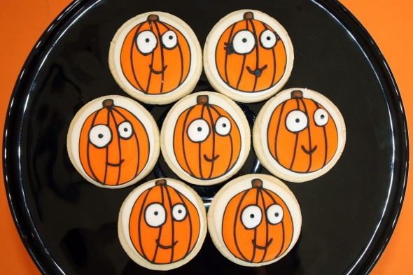 CUTE! CUTE! CUTE! Pumpkin Cookies