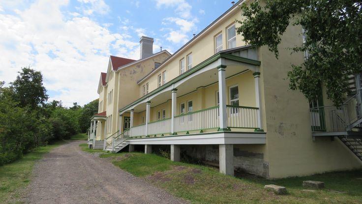 QC - Grosse Île, Île de la Quarantaine - Hôtel de première classe - 1912