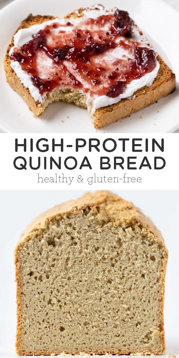 Gluten Free Quinoa Bread Recipe Simply Quinoa Recipe Quinoa Bread Yeast Free Breads Gluten Free Yeast Free