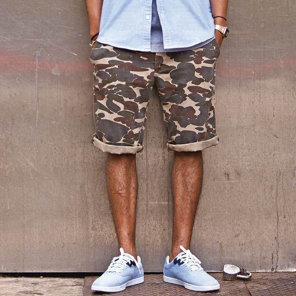 k1x smokin camo chino shorts camouflage