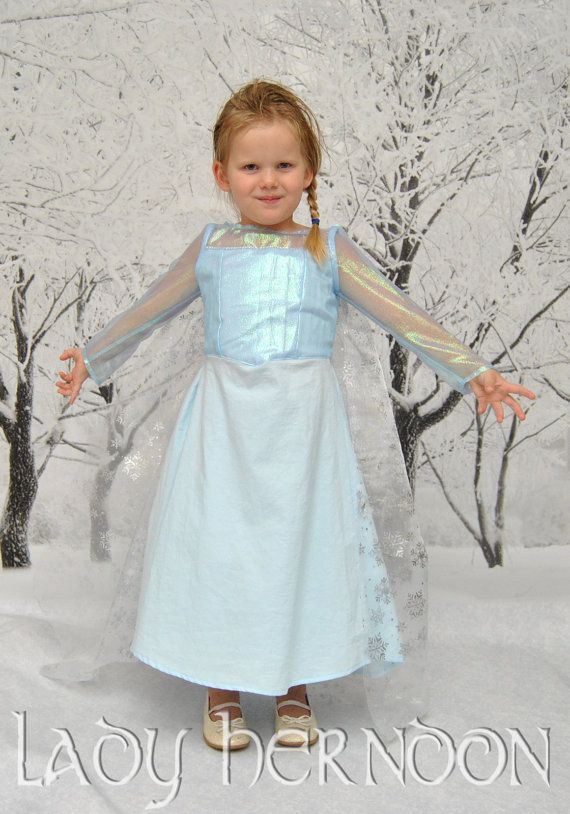 My Fairy Tale Elsa Dress from Disney's Frozen in by LadyHerndon: Frozen Parties, Ice Dresses, Fairy Tales, Tales Elsa, Elsa Ice, Elsa Dresses, Fairies Tales, Disney Frozen, Disney Dresses